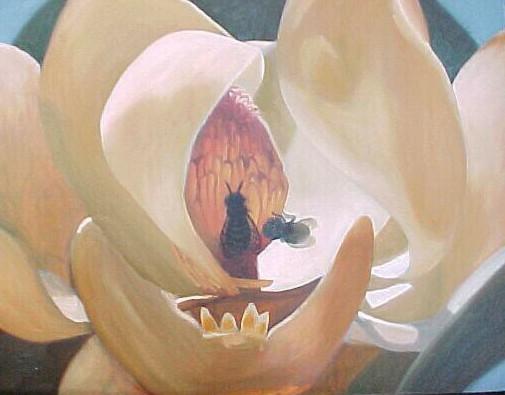 Horizontal Magnolia oil AAA