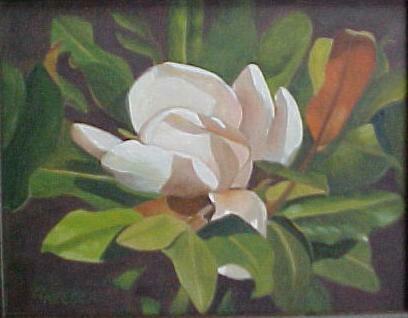 Magnolia in Acrylic