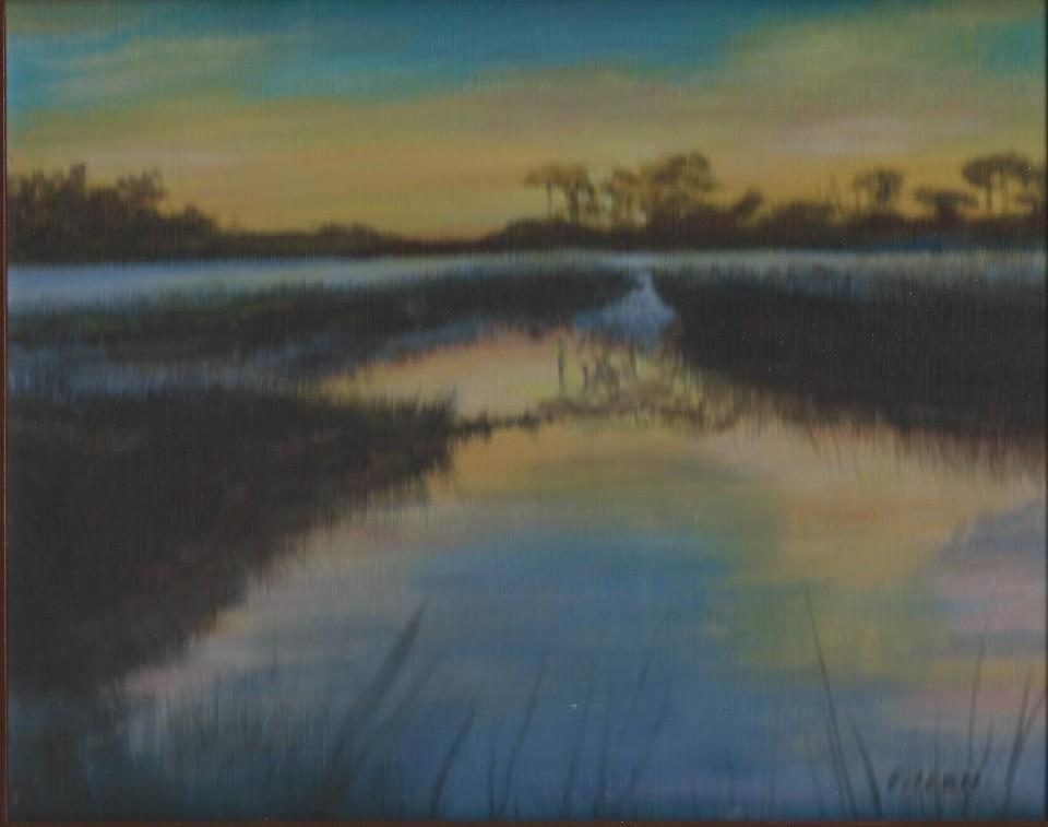 Pinckney Island 8x10 Acrylic